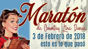Bailar Country en Madrid: Maratón Sala Legend 3 de Febrero de 2018