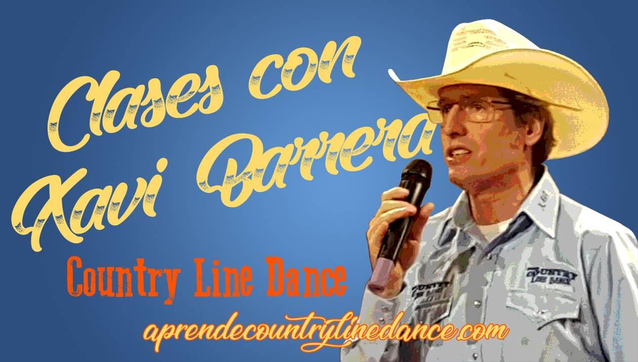 Bailar Country en Madrid: Clases presenciales con Xavi Barrera