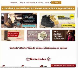 Corbettos tienda western en Barcelona