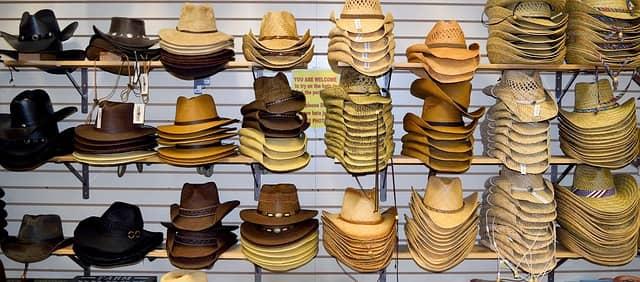 Opciones para elegir un sombrero cowboy
