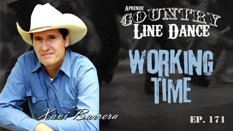 Carátula Working Time line dance, video tutorial