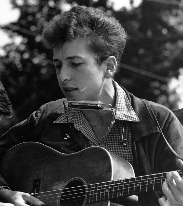 Botas Cowboy - Bob Dylan en 1962