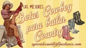 Botas Cowboy para bailar country