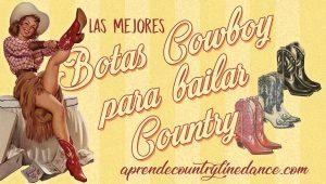 Botas cowboy para bailar country