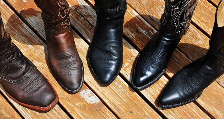 Botas cowboy - puntas