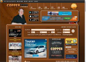 La hoja de pasos - Copperknob