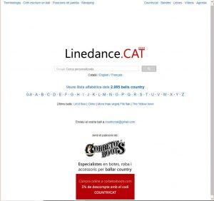 La hoja de pasos - LinedanceCat