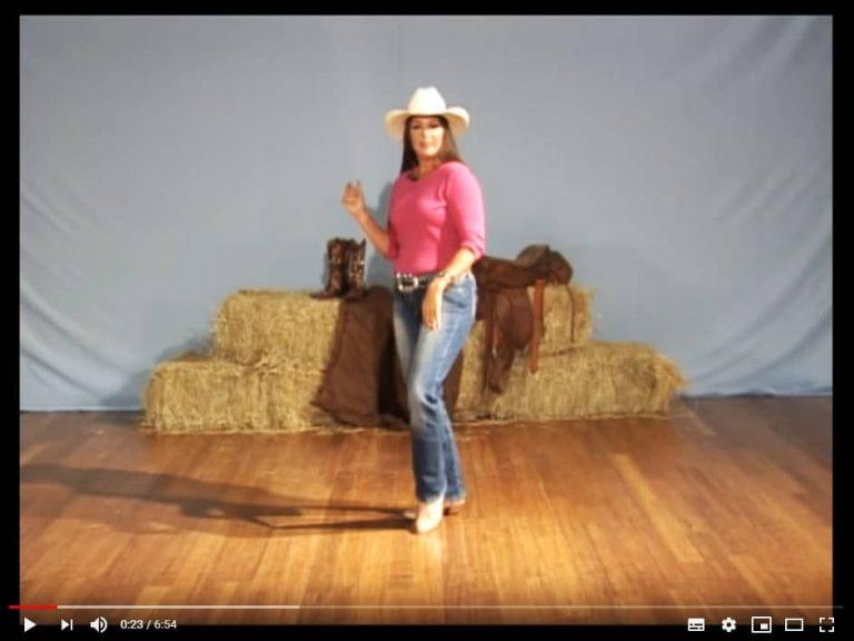Bailar con un video tutorial - Vista Frontal 02