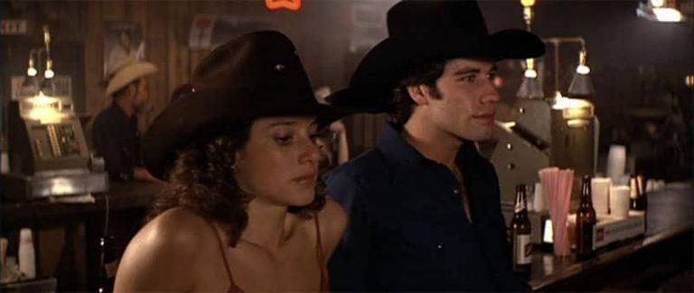Urban Cowboy, fotograma de la película que popularizó el Two Step.