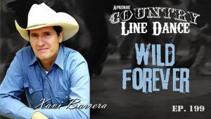 Carátula Wild Forever line dance - vídeo tutorial