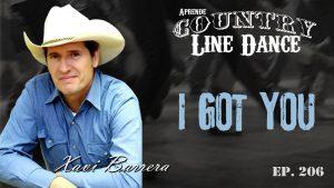 I Got You line dance - Carátula vídeo tutorial