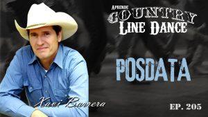 Carátula Posdata line dance - Vídeo tutorial