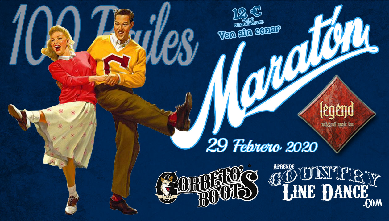 Bailar Country en Madrid: Maratón Sala Legend