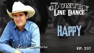 Happy line dance - Carátula vídeo tutorial