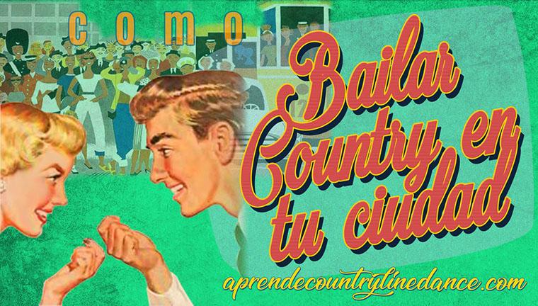Bailar country en tu ciudad