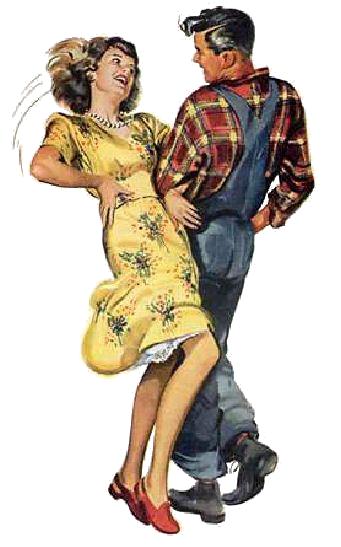 Bailar Country en tu ciudad - Pareja bailando