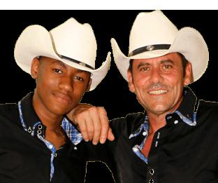 Algaly Fofana y Manu Santos