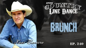 Brunch line dance - Carátula vídeo tutorial