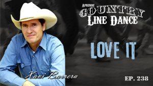 Love It line dance - Carátula vídeo tutorial