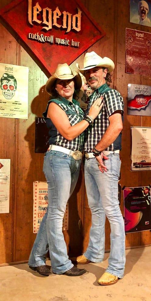 Ángela Inoges y Manuel Pérez