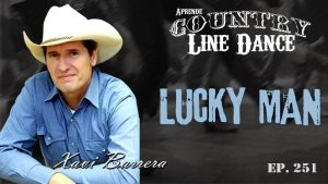 Lucky Man Line Dance - Carátula Vídeo Tutorial