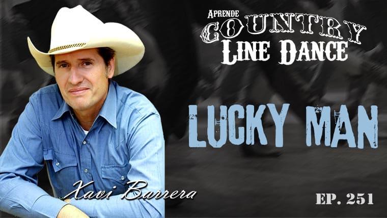 Lucky Man Line Dance - Carátula Vídeo Tutorial