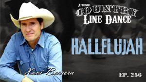 Hallelujah line dance - Carátula vídeo tutorial