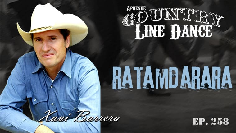 Ratamdarara line dance - Carátula vídeo tutorial