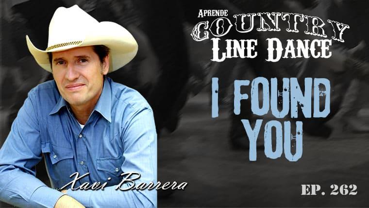 I Found You line dance - Carátula Vídeo Tutorial