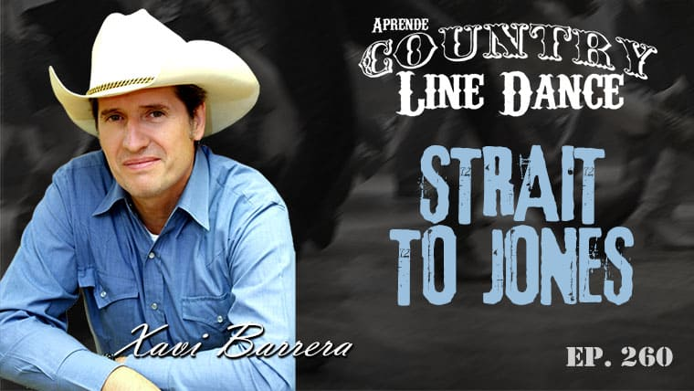 Strait to Jones line dance - Carátula vídeo tutorial