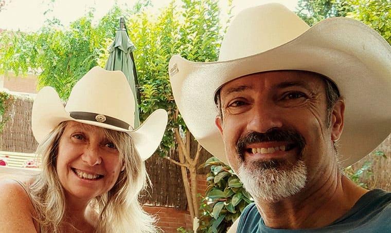 Lidia Calderero y Edu Roldós
