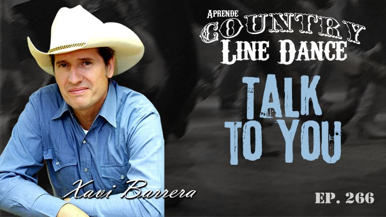 Talk To You Line Dance - Carátula vídeo tutorial