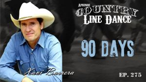 90 Days line dance - Carátula vídeo tutorial