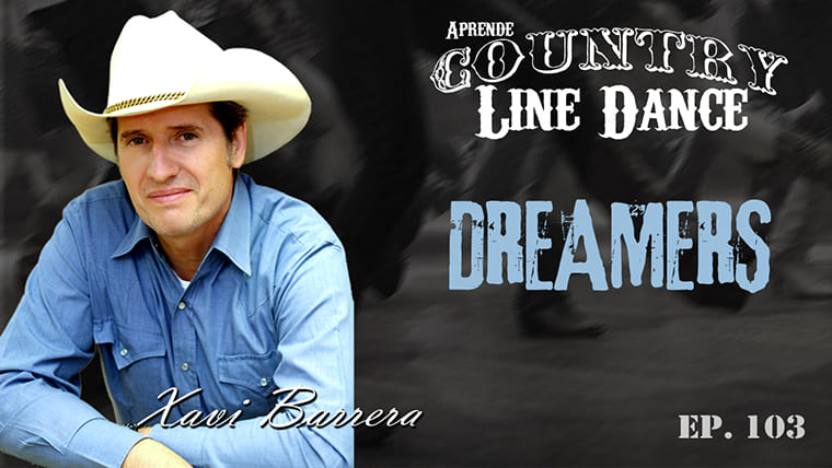 Dreamers Line Dance - Carátula vídeo tutorial
