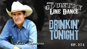 DRINKIN' TONIGHT Line Dance - Carátula vídeo tutorial