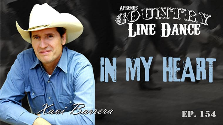 IN MY HEART Line Dance - Carátula vídeo tutorial