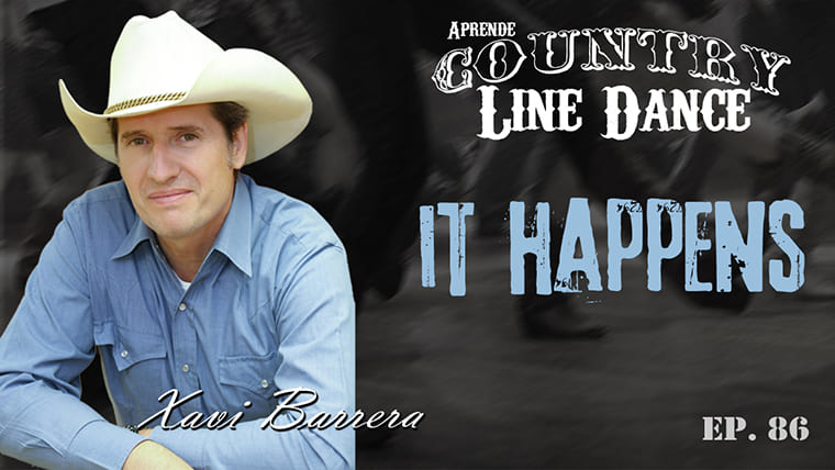 IT HAPPENS Line Dance - Carátula vídeo tutorial