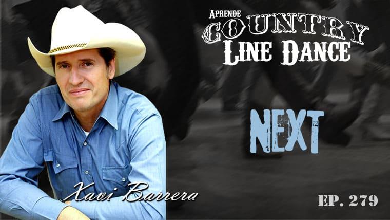 Next Country Line Dance - Carátula vídeo tutorial