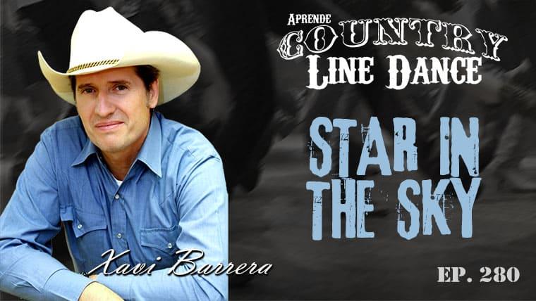 STAR IN THE SKY Country Line Dance - Carátula vídeo tutorial