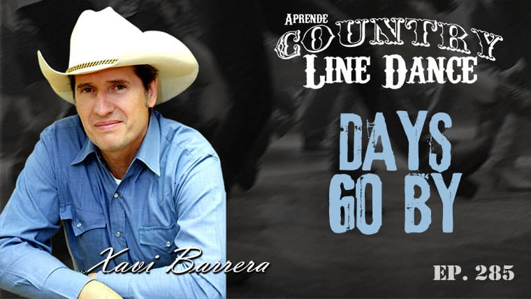 Days Go By Country Line Dance - Carátula vídeo tutorial