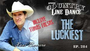 The Luckiest Country Line Dance - Carátula vídeo tutorial