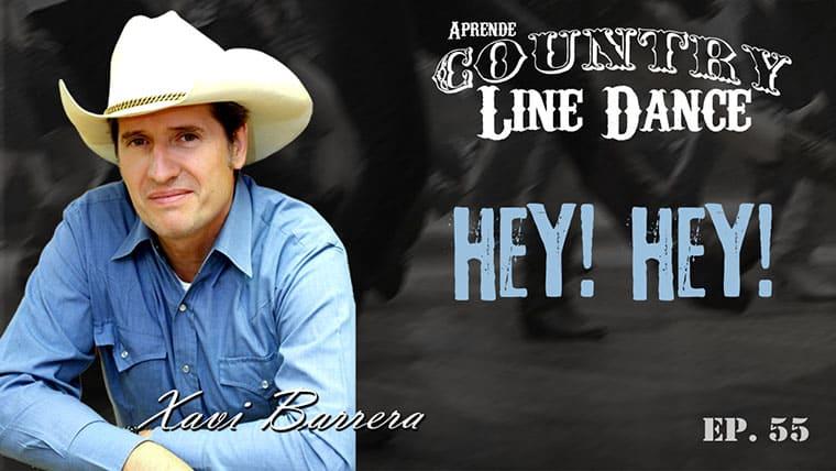 HEY! HEY! Country Line Dance - Carátula vídeo tutorial