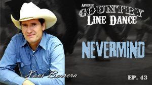 NEVERMIND Country Line Dance - Carátula vídeo tutorial