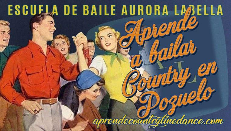 Curso de Iniciación al Country Line Dance - Escuela de baile Aurora Labella, Pozuelo de Alarcón