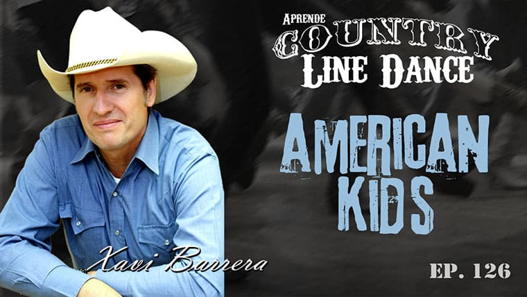 American Kids Country Line Dance - Carátula vídeo tutorial