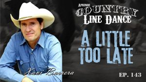 A LITTLE TOO LATE Country Line Dance - Carátula vídeo tutorial