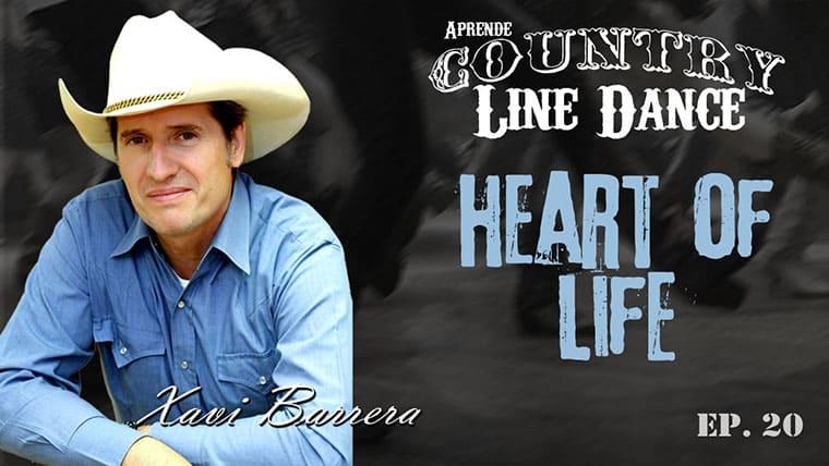 HEART OF LIFE Country Line Dance - Carátula vídeo tutorial