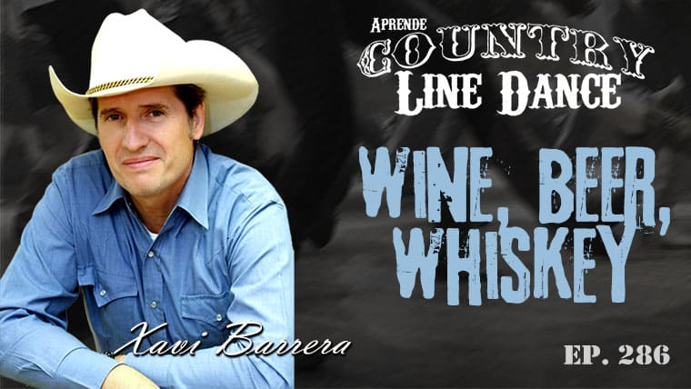 WINE BEER WHISKEY Country Line Dance - Carátula vídeo tutorial