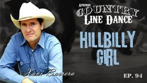 HILLBILLY GIRL Country Line Dance - Carátula vídeo tutorial