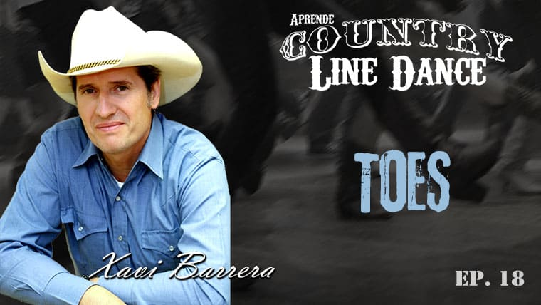 TOES Country Line Dance - Carátula vídeo tutorial